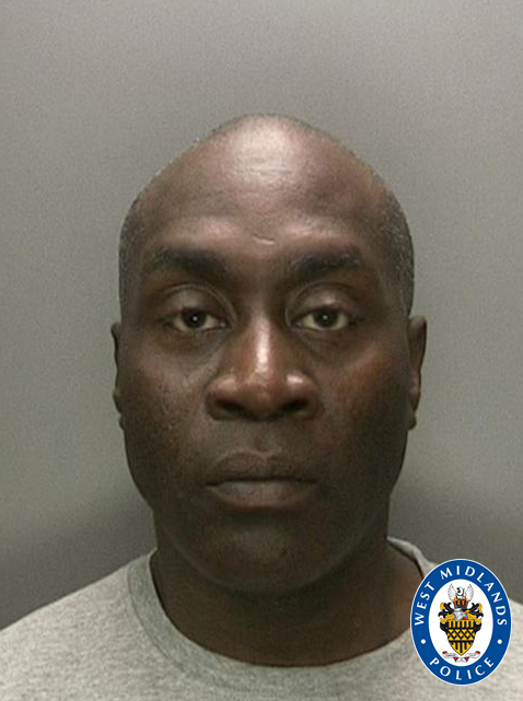 Jailed: Domestic violence thug Clover Johnson who deliberately knocked down a female PC in his car